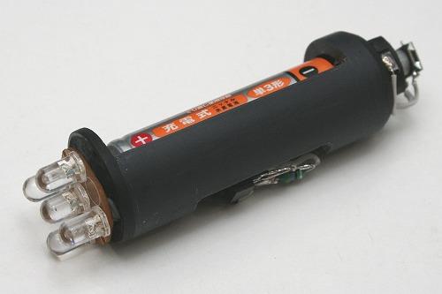 自転車の 自転車 ライト 修理 : 点滅IC付き5LED基板を ...
